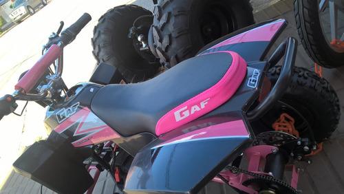 gaf cuatri racer 50 cc. 2t.  0km. 100% financiado!!!