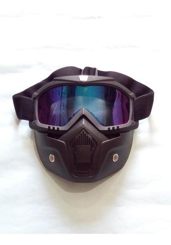 gafa máscara para motos anti polución