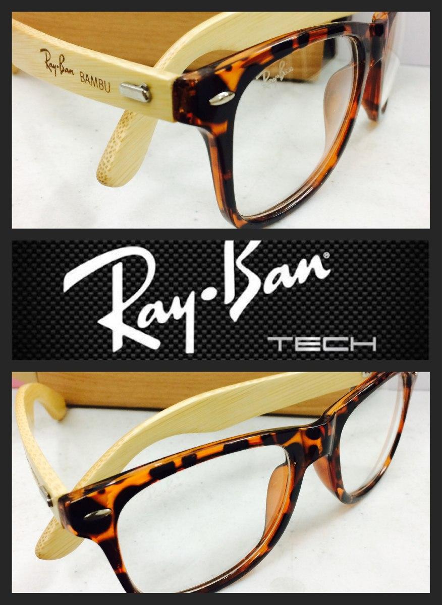 lentes ray ban patas de bambú