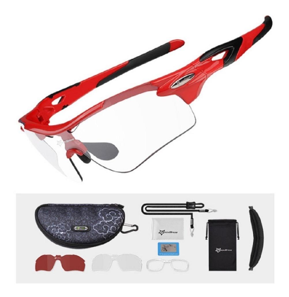 56019b86c gafas 1 lente fotocromático y 1 polarizado rockbros ciclismo. Cargando zoom.