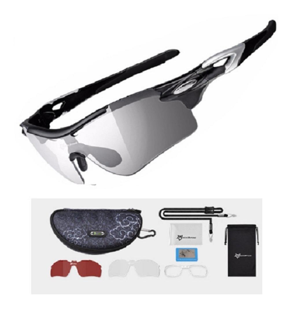 a4ea0a649 gafas 1 lente fotocromático y 1 polarizado rockbros ciclismo. Cargando zoom.
