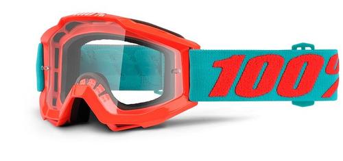gafas 100% accuri passion joven lentes naranja/claro os