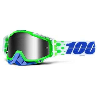 gafas 100% racecraft alchemy 2016 mx con lentes espejados