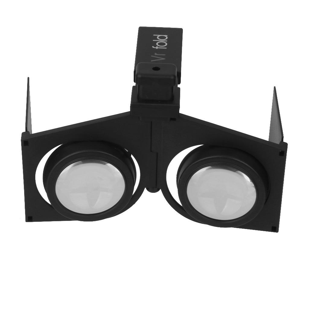 Gafas 3d De Realidad Virtual Mini Vr Pliegue Para Juego De P