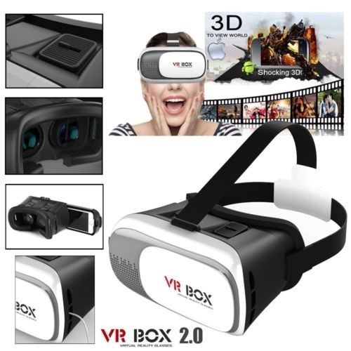 gafas 3d realidad virtual vr box + control  oferta !!!