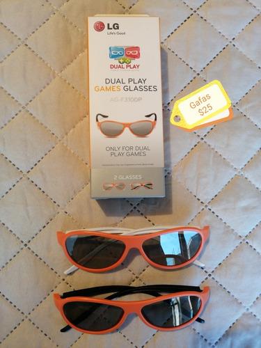 gafas  3d y wireless lg