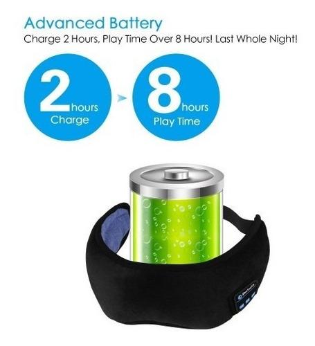 gafas bluetooth para dormir o descansar los ojos