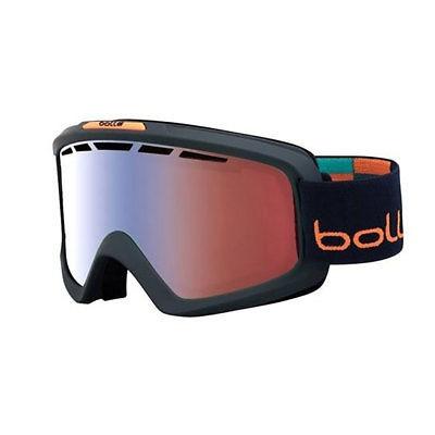 ee9be50b14 Gafas Bolle Nova Ii Mate Azul Y Naranja Invierno Esquí Con ...