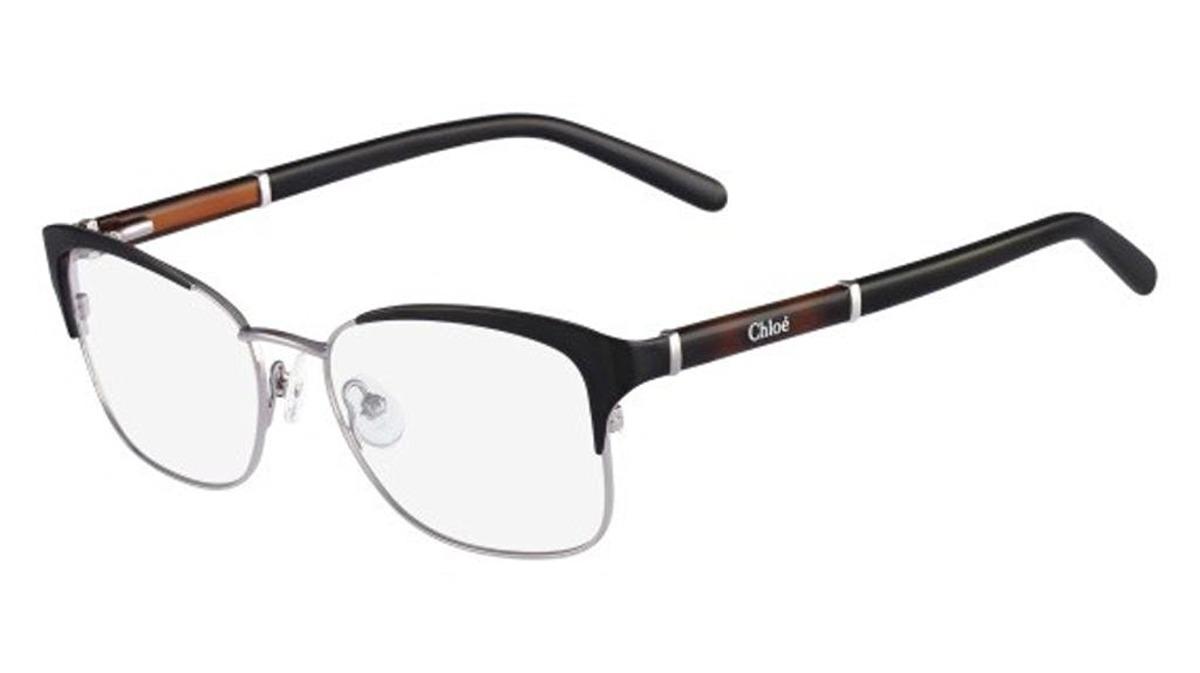 Gafas Chloe Ce Lente Transparente Marco Negro - $ 639.211 en Mercado ...
