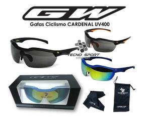 gran selección de 7717b 6ba77 Gafas Ciclismo Gw Cardenal Uv400 Lentes Deportivos Promoción