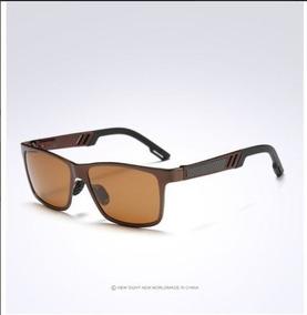 de3ffa5ac4 Gafas Cuadrada Cafe Marron Wayfarer Lentes Polarizados Uv400