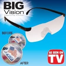 gafas de aumento big vision mas vision nitidez lupa aumento