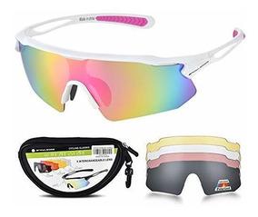 código promocional 4f72e cd9fd Gafas De Ciclismo Para Hombre Y Mujer Con 5 Lentes Intercamb