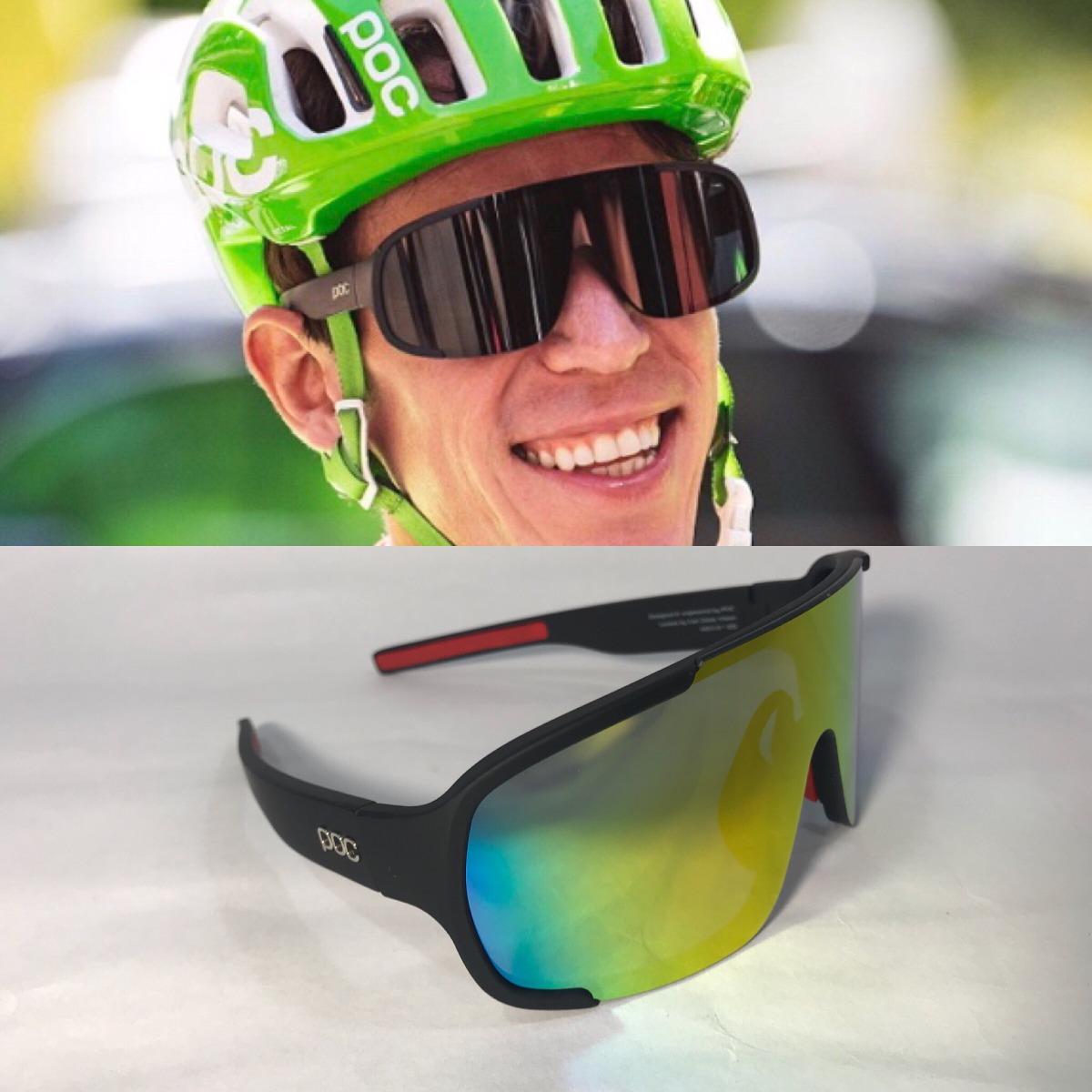 tienda del reino unido detallado procesos de tintura meticulosos Gafas De Ciclismo Poc Aspire Negras Rigoberto Urán