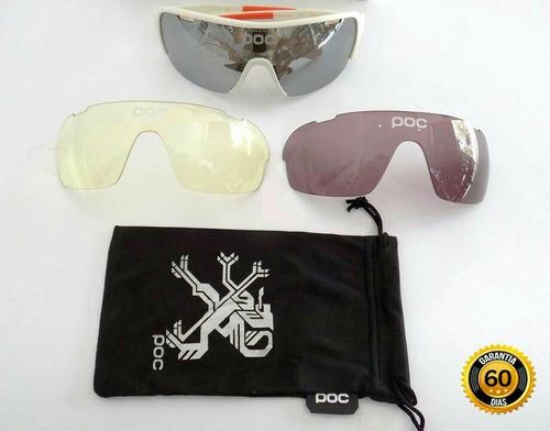gafas de ciclismo poc protección uv