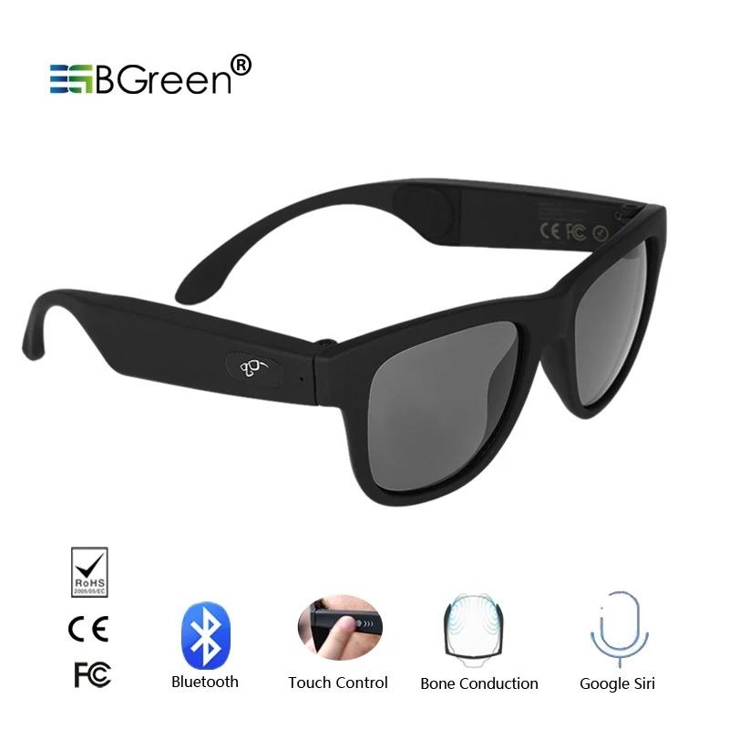 comprar baratas 136a3 7252b Gafas De Conducción Ósea Bluetooth Inteligente Deporte Gafa