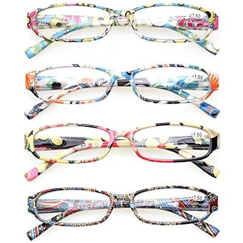 86ce30e7d5 gafas de lectura 4 modernas para mujer con diseno floral cla. 9 Fotos