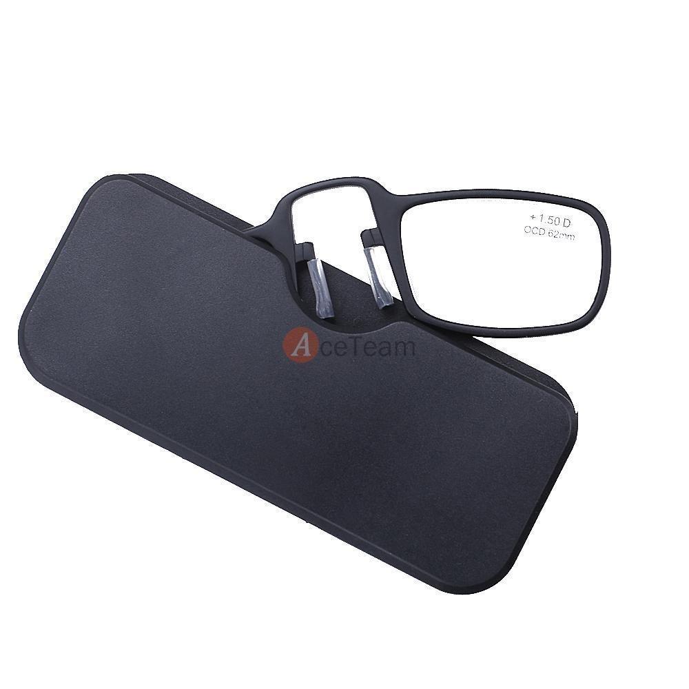 c97bb630e7 gafas de lectura portátil mini nariz clip... (+2.50 str.) Cargando zoom.