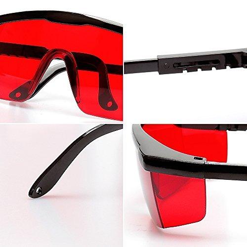 seguridad gafas mejora de láser verde ajustable protección gafas con Estuche