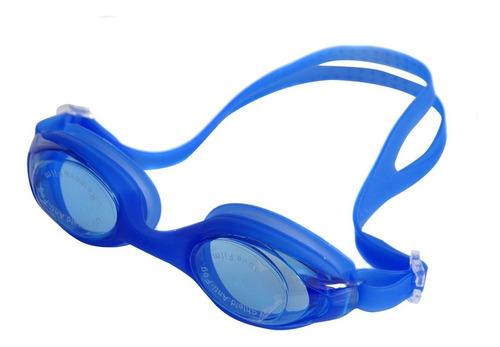 gafas de natación profesionales filtro uv + protector oidos
