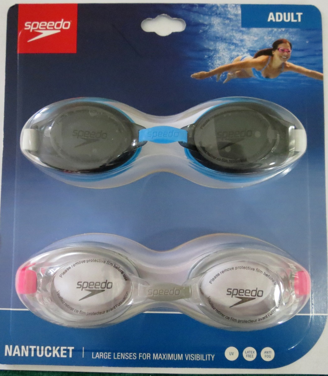 Gafas De Natacion Speedo Nantucket X 2 Adulto -   69.900 en Mercado ... b57ddbd5838