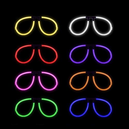 gafas de neón anteojos de neón fiestas hora loca 2