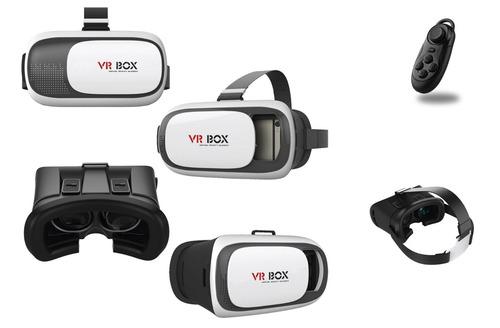 gafas de realidad virtual 3d vr-box v 2.0+ joystick