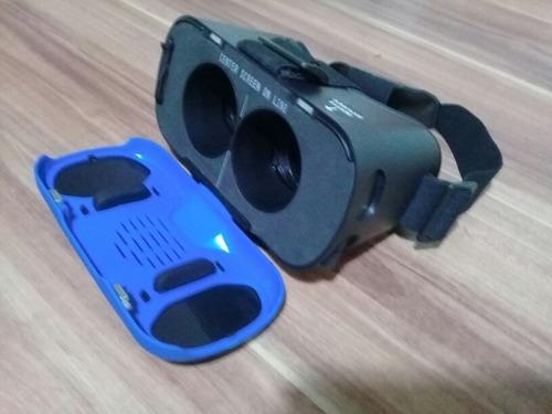 gafas de realidad virtual dream vision de tzumi azules