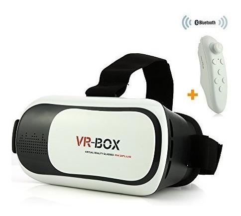 gafas de realidad virtual vr box 3d incluye control bluetoot
