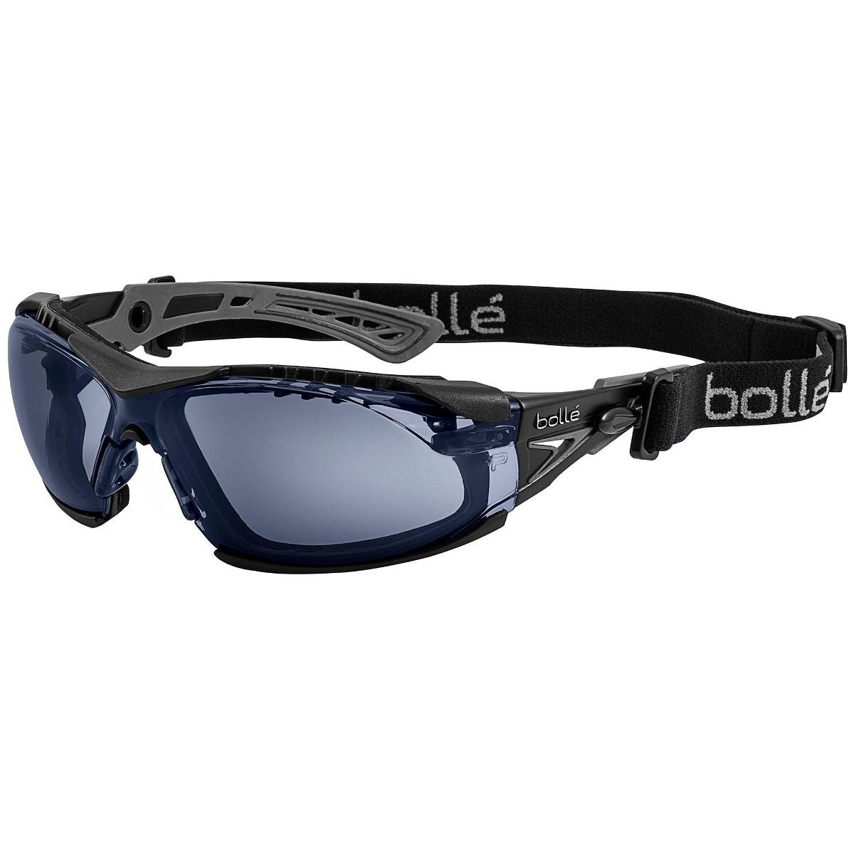 3e8ae0ab08 gafas de seguridad bolle safety rush con espuma y correa en. Cargando zoom.