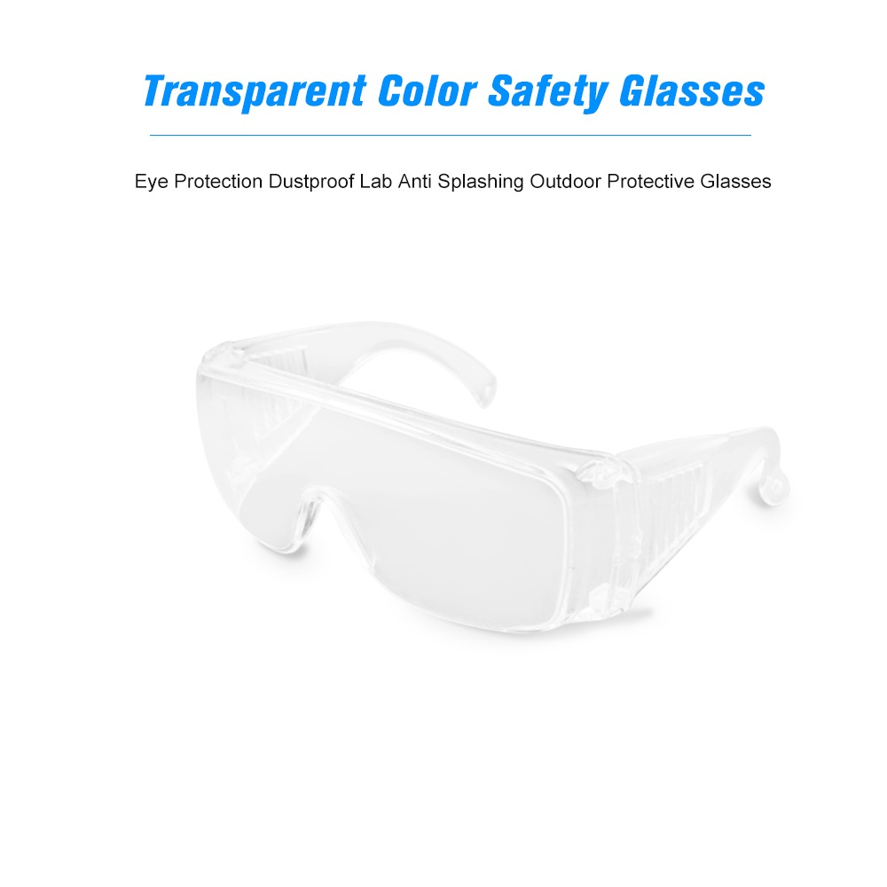 d329d170eb Gafas De Seguridad De Color Transparente Protecci n Ocular - $ 275 ...