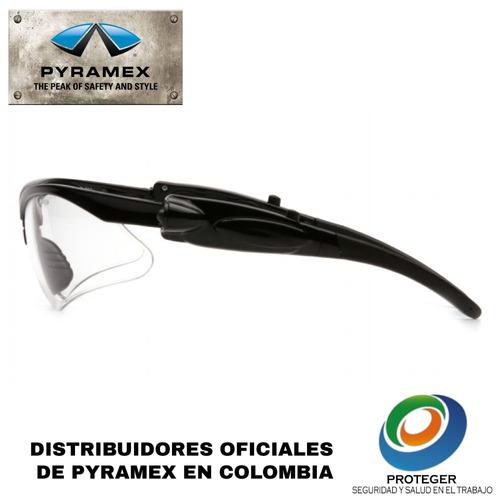 gafas de seguridad pyramex pmxtreme lente transparente