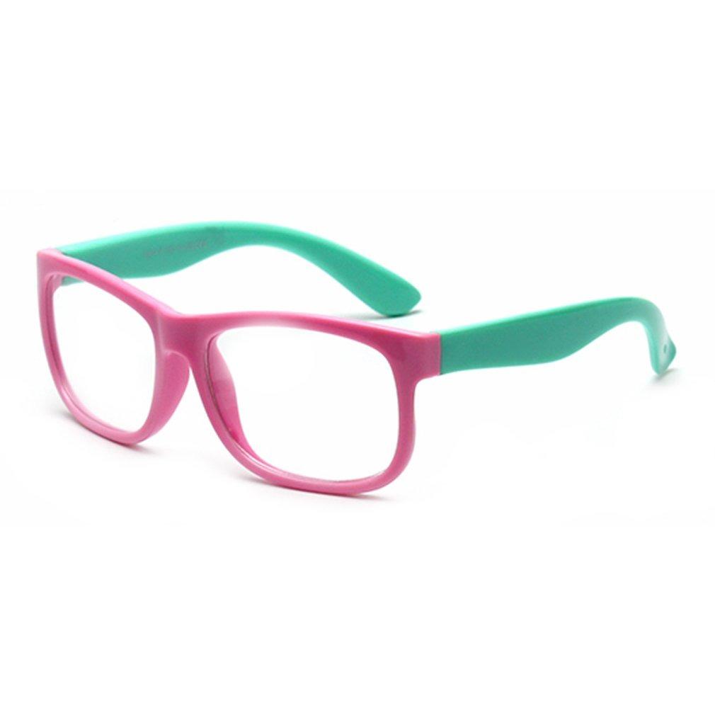 0c3e2b86a2 gafas de silicona para niños marco de gafas de cuadro grande. Cargando zoom.