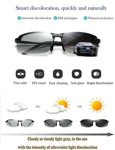 gafas de sol a3043 descoloridas para manejar para hombre