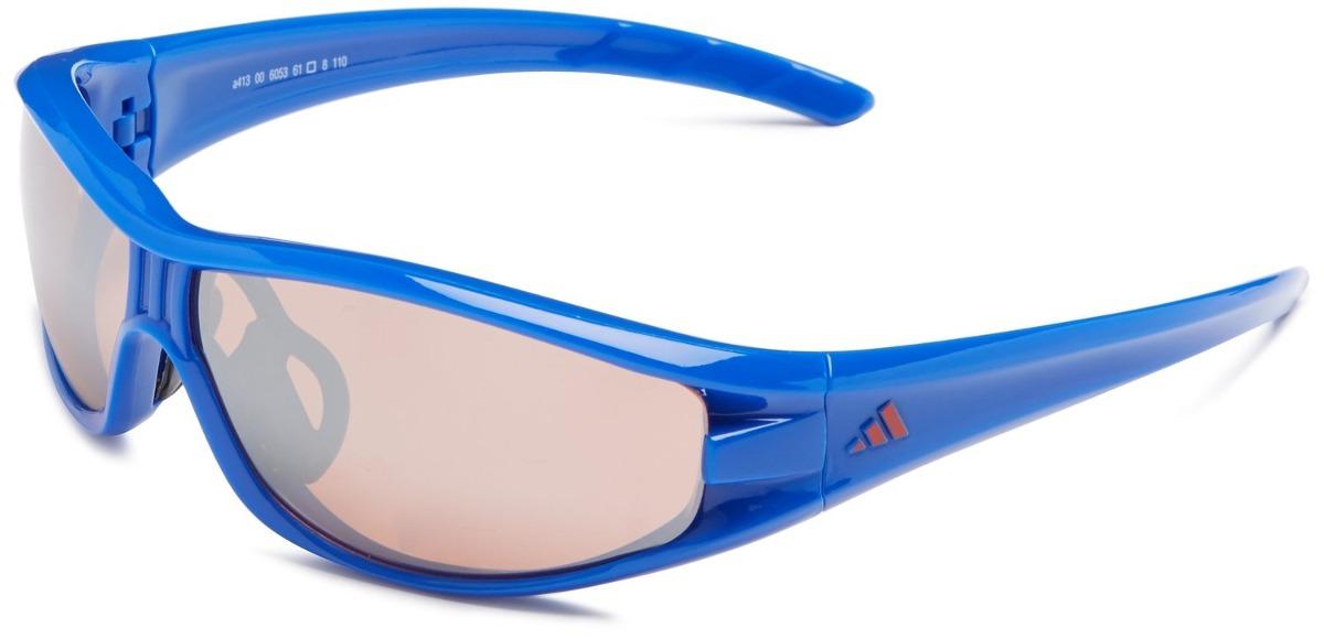 Gafas De Sol adidas A Lente Gris Marco Azul - $ 485.900 en Mercado Libre