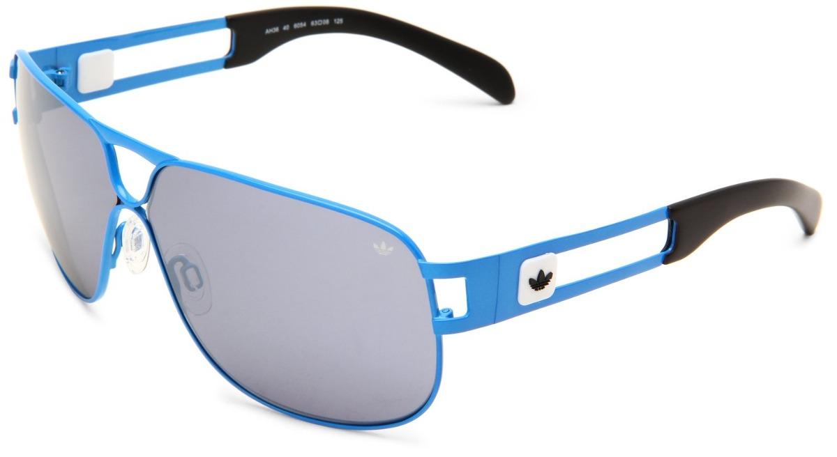 Gafas De Sol adidas Conductor Hi Ah Lente Gris Marco Azul ...