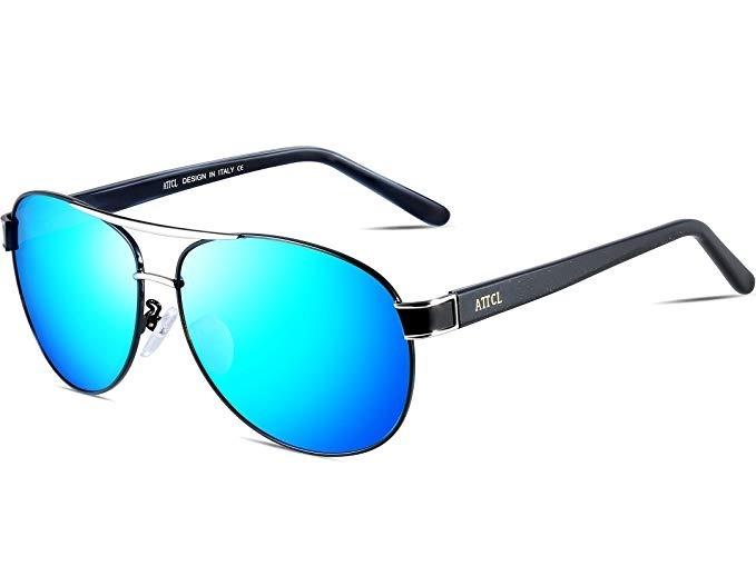 60a39d3ec Gafas De Sol Attcl Para Hombre Con Lentes Polarizadas Uv400 ...