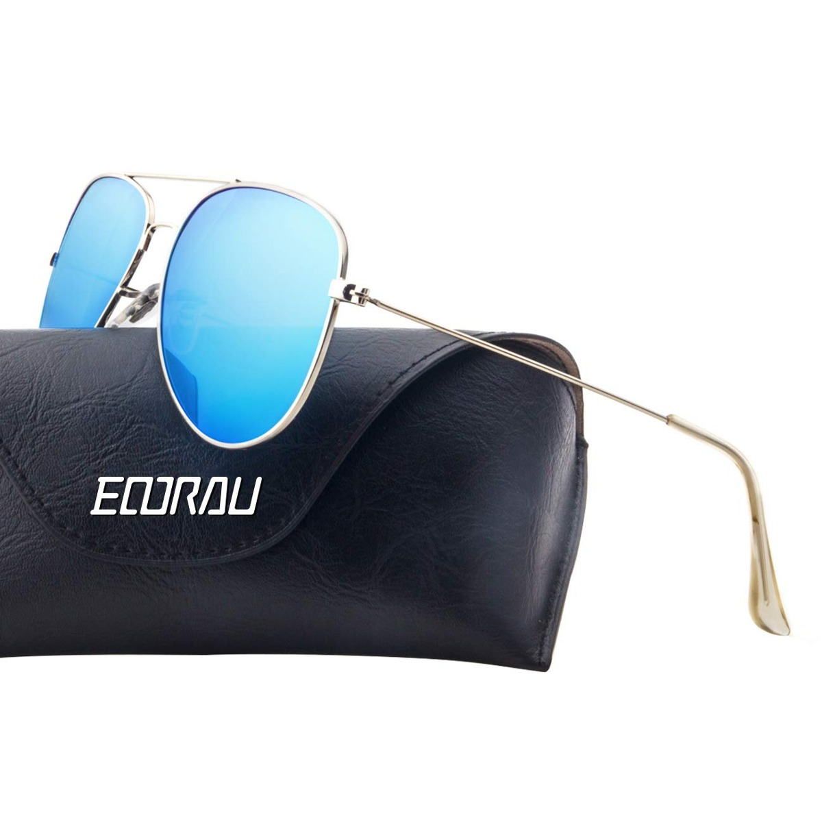 8017040bf9 Cargando zoom... gafas de sol aviador eoorau polarizadas uv 400 ...