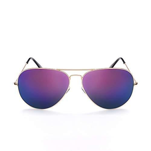 8c550918dd Gafas De Sol Aviador Para Mujer Gafas De Sol Estilo Piloto E - $ 101.990 en  Mercado Libre