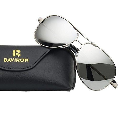 764a3165bd Gafas De Sol Aviator Baviron Para Hombres Mujeres Gafas De S ...