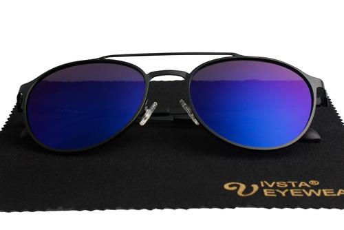gafas de sol aviator polarizadas para hombres mujeres con es