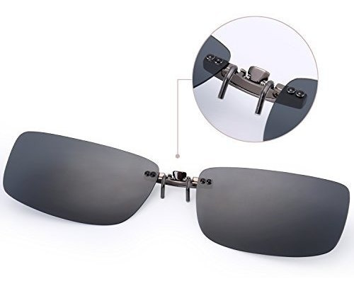 gafas de sol besgoods polarized clip on irrompible conducir