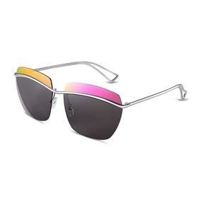 b32724fd2b Gafas De Sol Bloqueo Color Marco Cuadrado Hombres Moda