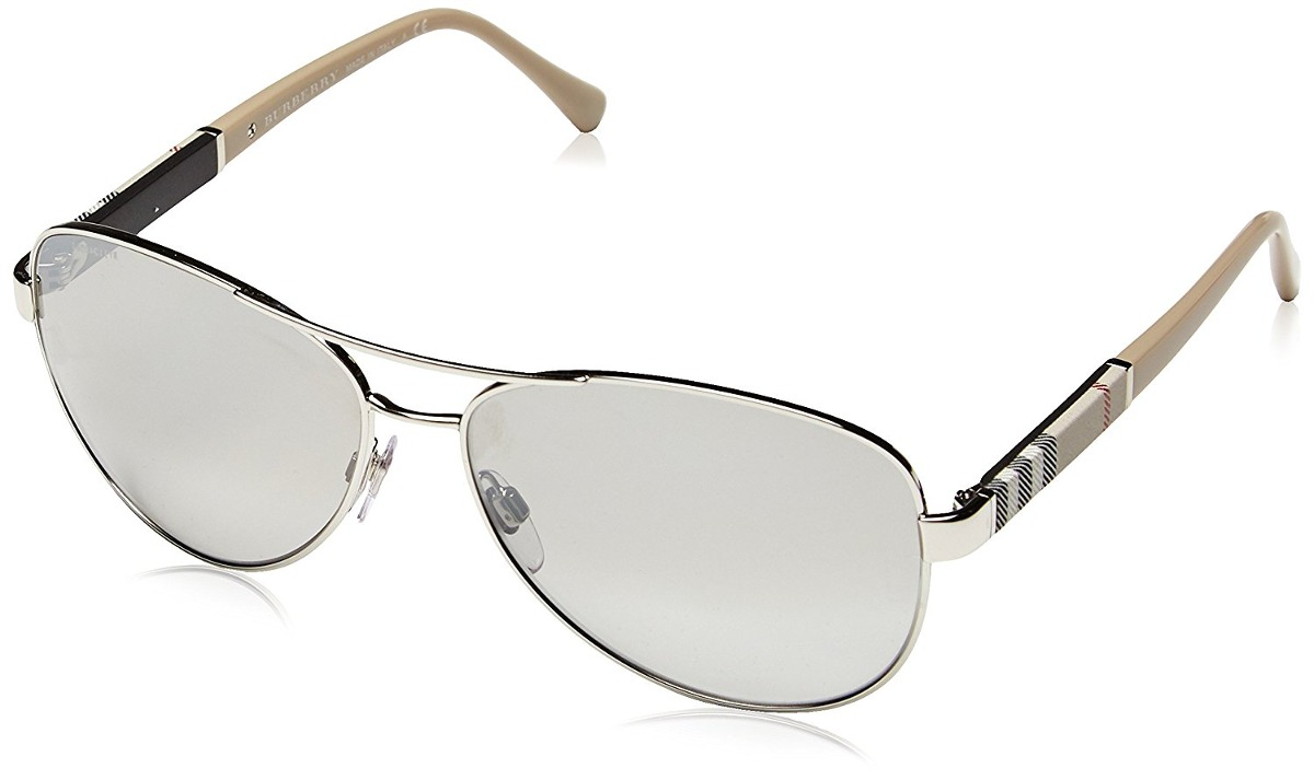 Gafas De Sol Burberry Be V 59 14 135 Lente Degrade Marco P ...
