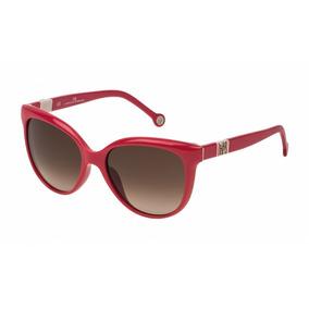Gafas Carolina Herrera She697 Rojo De Sol Fem Eyecat 7fu OTXukPZi