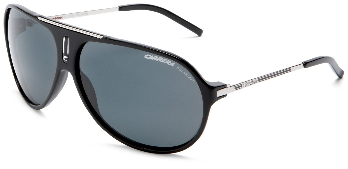 gafas de sol carrera aviator hot, color negro y paladio  . Cargando zoom. f38f2e217e