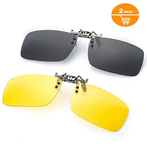 96fff8c2c6 Gafas De Sol Con Clip Para Anteojos Recetados, Lente De ...