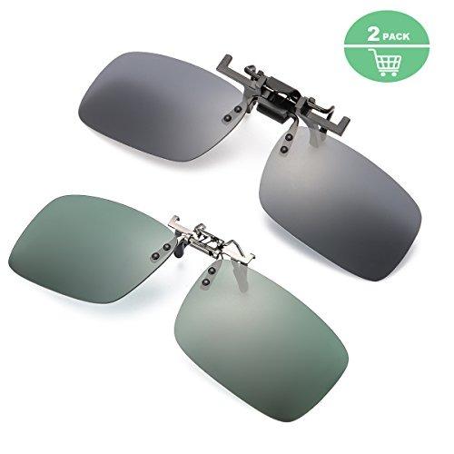 07dcb52e6e Gafas De Sol Con Clip Para Gafas De Prescripción Lentes Pol ...