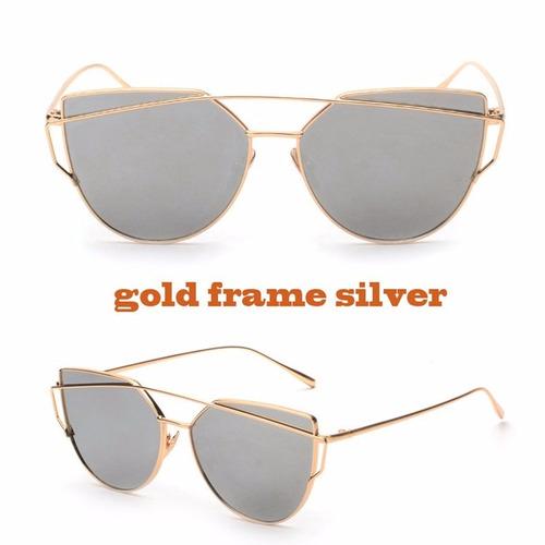 gafas de sol con estuche y colores de moda