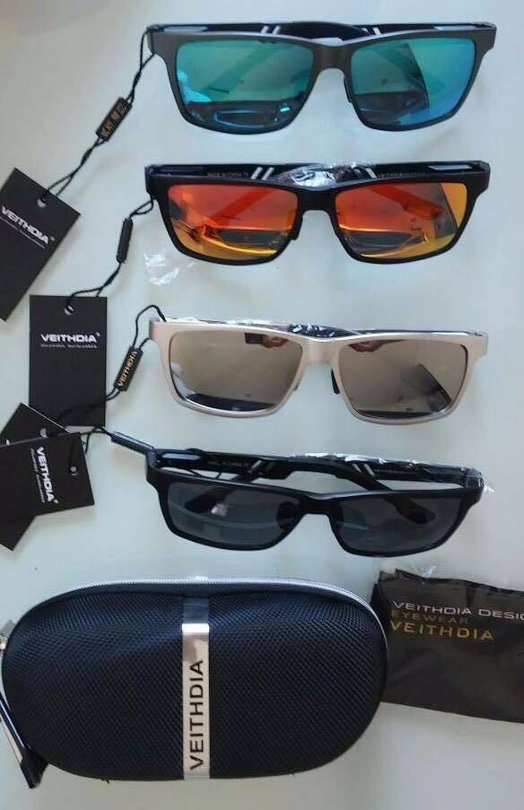 gafas de sol con lentes polarizados hd original filtro uv400. Cargando zoom. 8f5b701ca5
